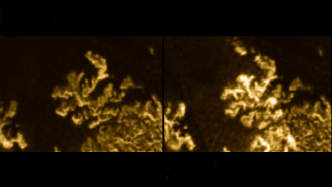 1284 Mysterious Bright Object Spotted On Titan