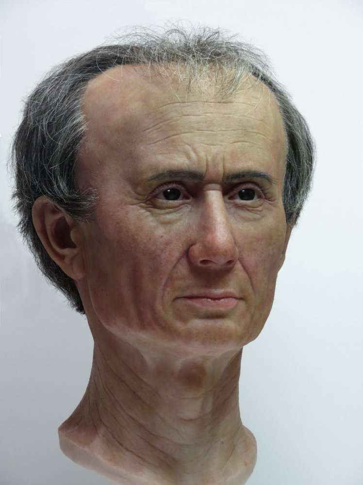 3D Reconstruction of Julius Caesar's Head Reveals Ruler's Odd