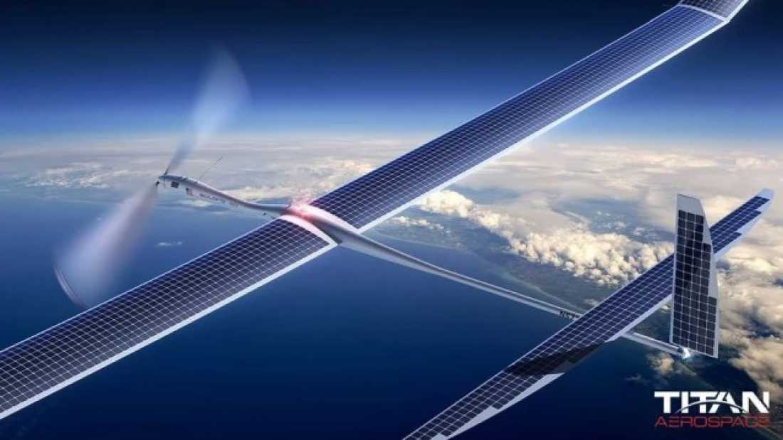 1035 Google Is Testing Solar-Powered Drones To Supply 5G Internet From The Air