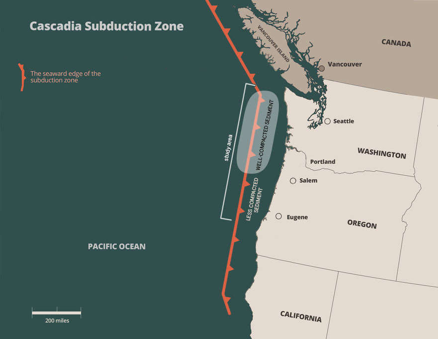 Image result for cascadia subduction zone
