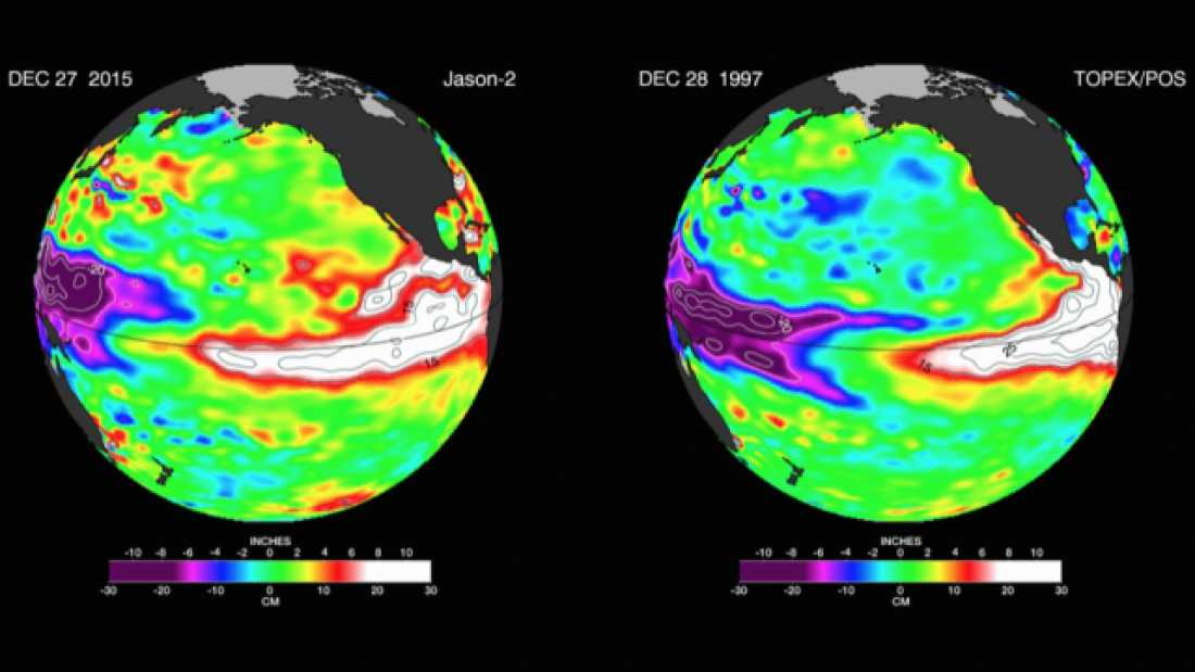 415 El Niño Is Still Growing And Set To Get Even Stronger In The Next Few Months