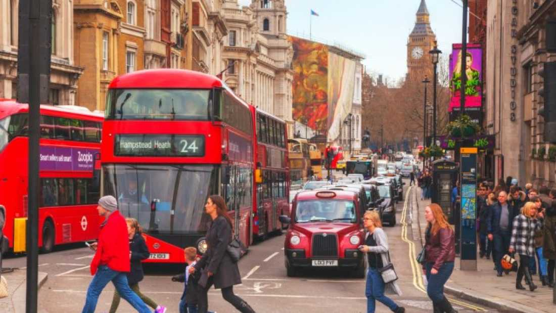 559 London Breaches Yearly Pollution Limit After Just Eight Days