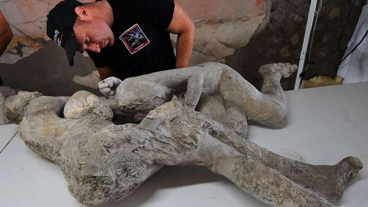 The Embracing Pompeii Couple Might Actually Be Two Men ...
