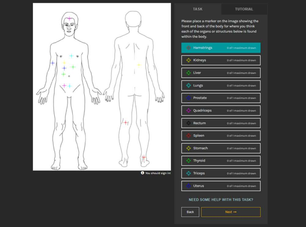Take This Anatomy Quiz To Help Researchers Gauge Public Knowledge Of