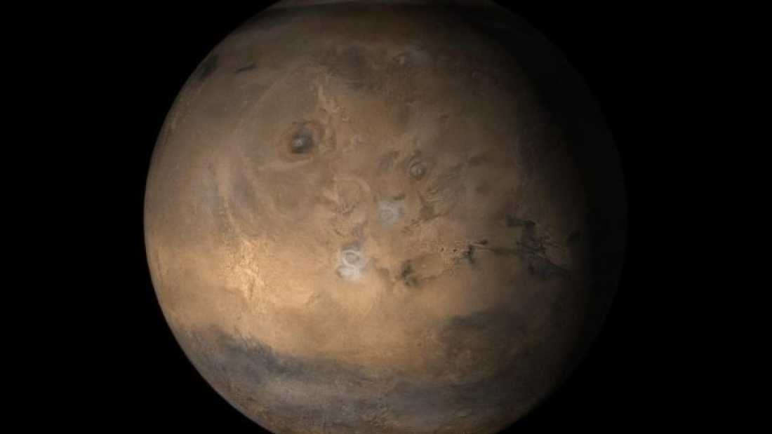 210 A Massive Volcanic Eruption May Have Tipped Mars Over