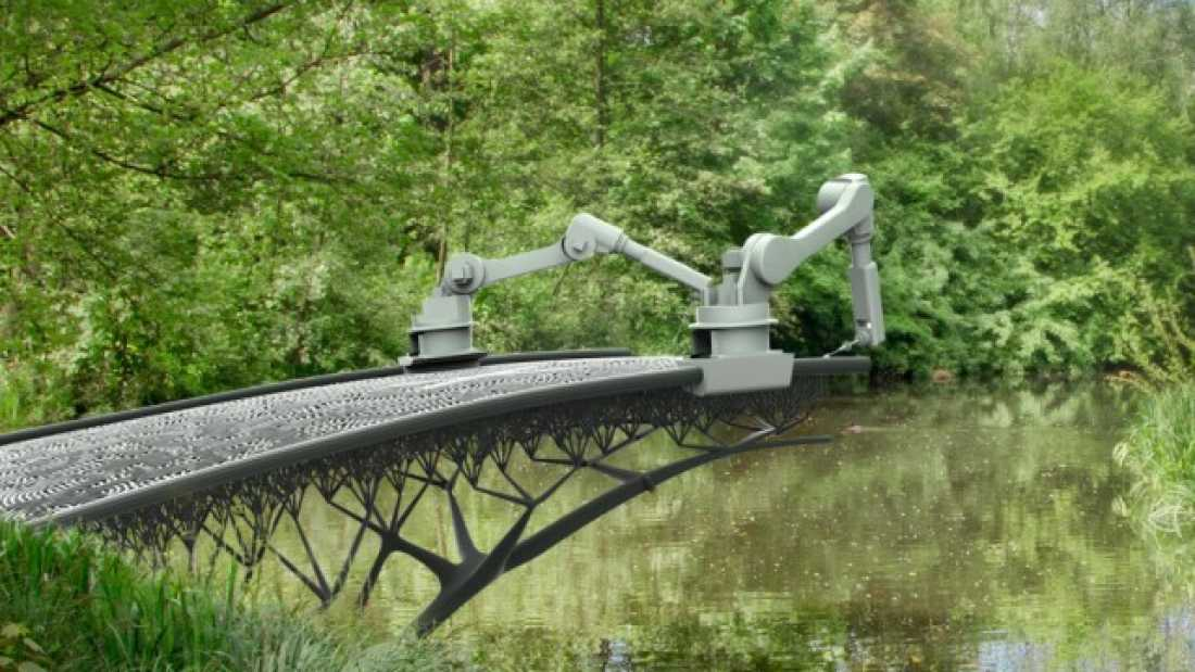 567 This Robot is Going to 3D-Print a Steel Bridge