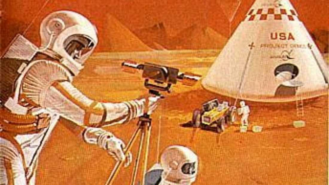 1088 NASA Plans To Send People To Mars By 2035