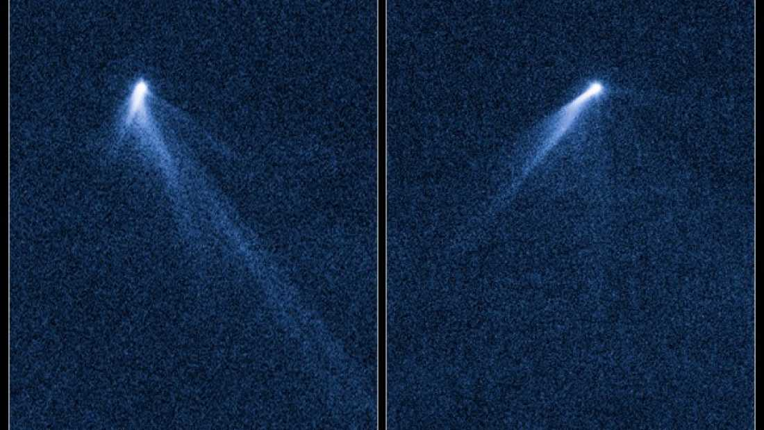 122 Hubble Spots Odd Asteroid With Six Tails