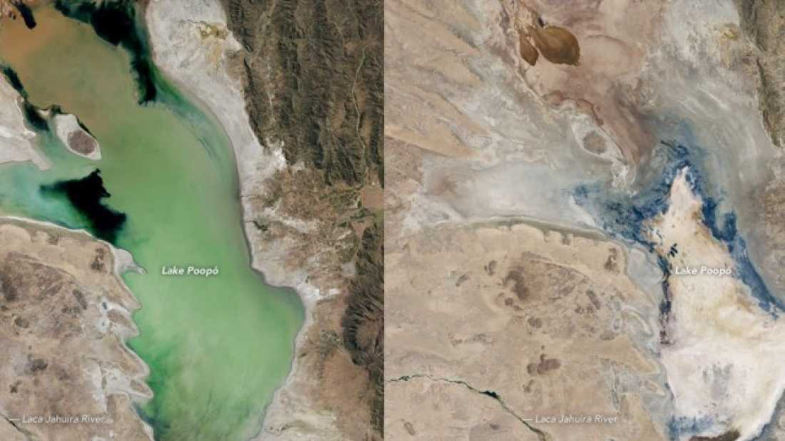 835 Enormous Lake In Bolivia Has Nearly Dried Up