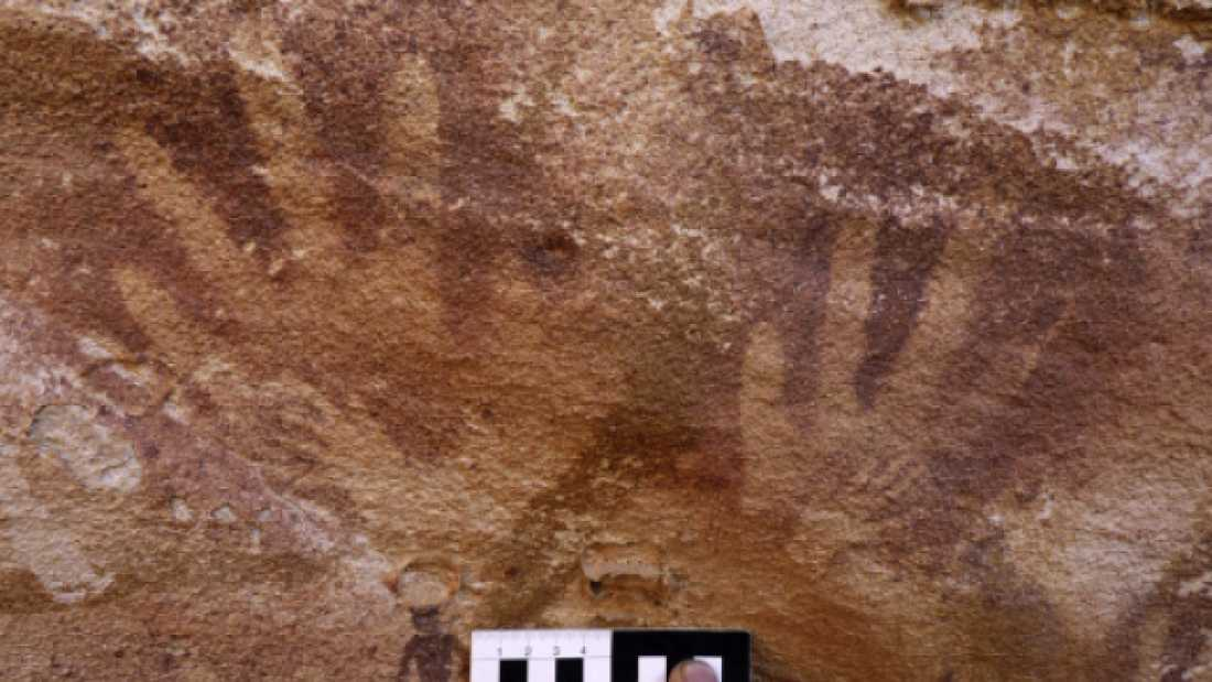 158 Humans Didn't Make These Tiny Handprints - So Who Did?