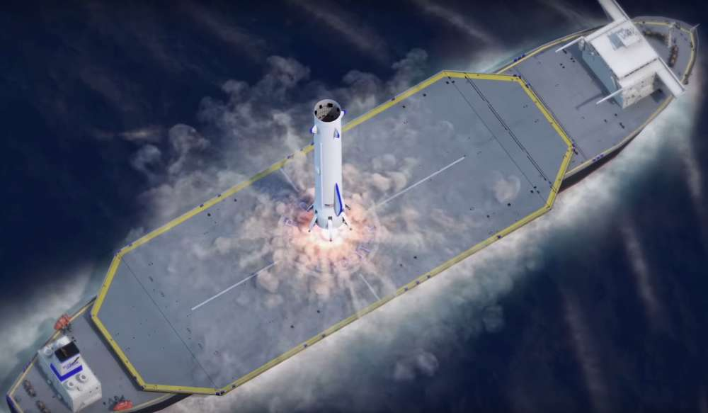 Blue Origin Shows Off Its New Reusable Rocket To Take On ...