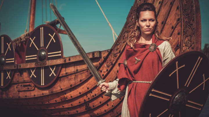 Genetic Evidence Reveals Buried Viking Warrior Was