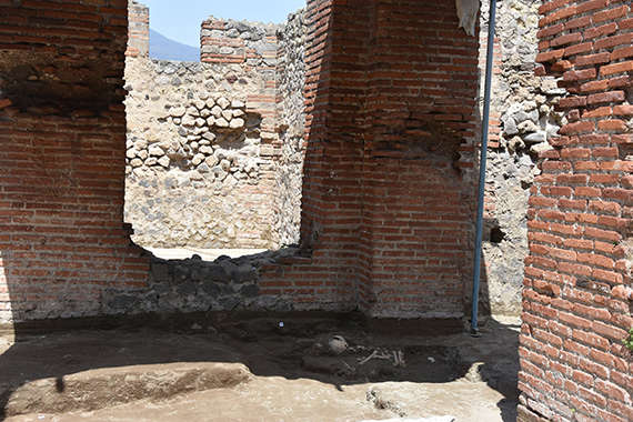 This Newly Unearthed Skeleton Discovered At Pompeii Will