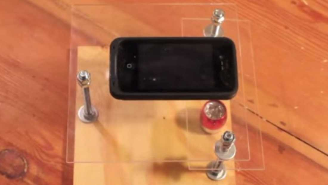 896 How To Build A Smartphone Microscope Stand for $10