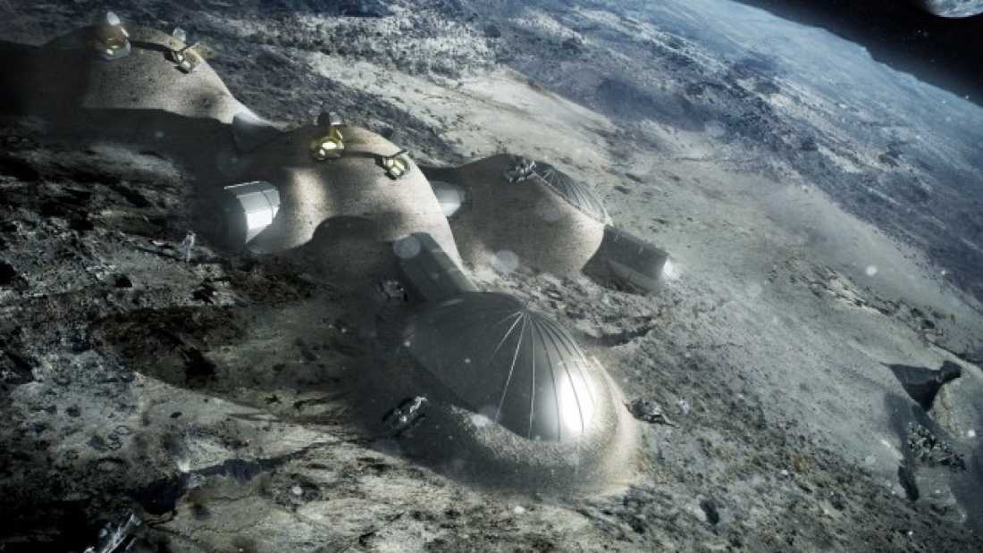 414 European Space Agency Plans To Build Moon Village By 2030