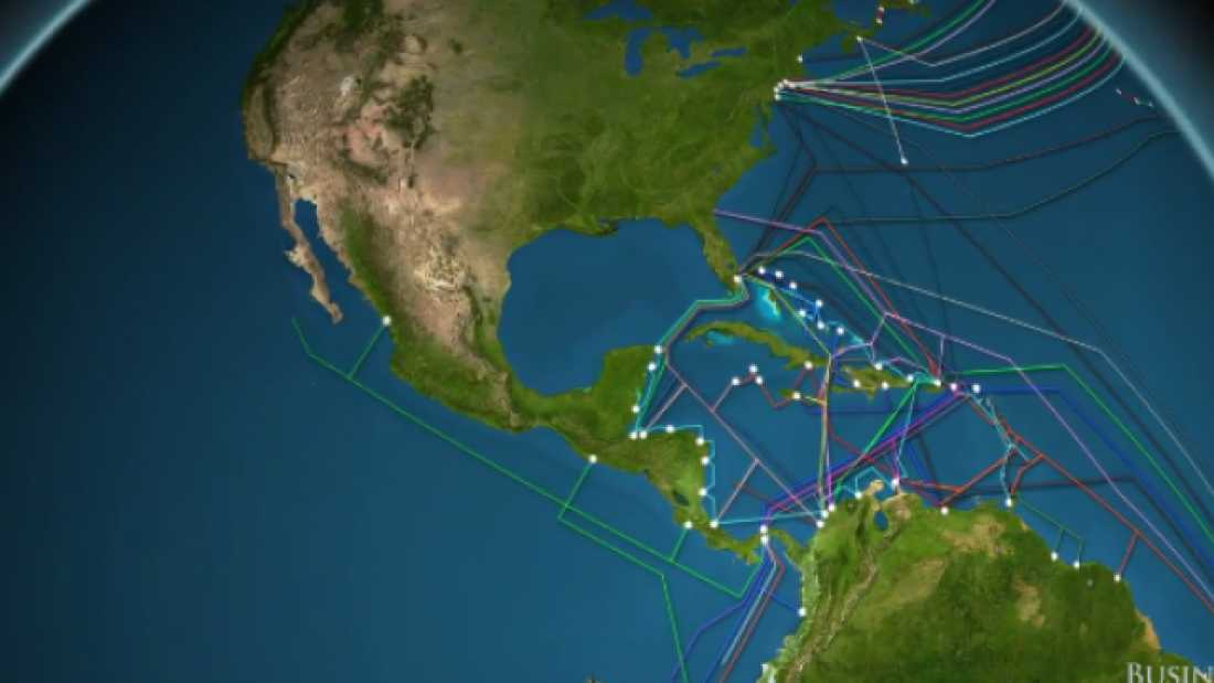 2227 This Animation Shows You Exactly How Many Internet Cables Are Under The Ocean
