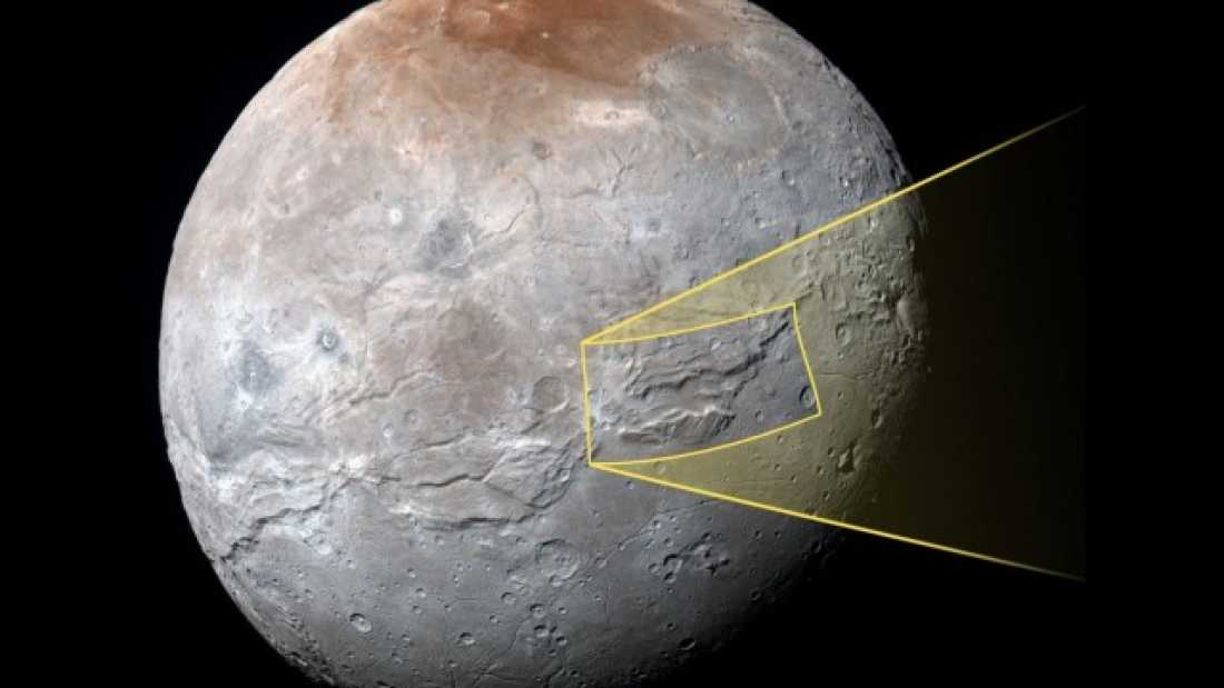 1476 Did Pluto's Moon Charon Have An Ancient Underground Ocean?