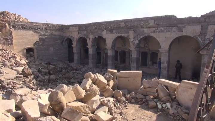 ISIS Blew Up This Temple And Accidentally Revealed Something Amazing
