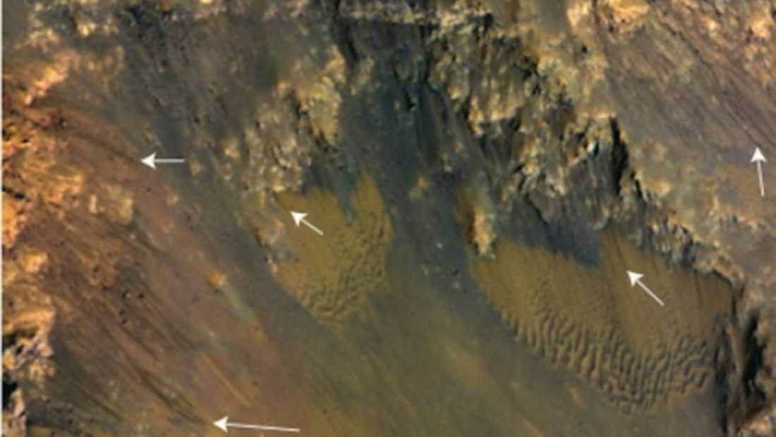 193 Free-flowing water discovered on the equator of Mars
