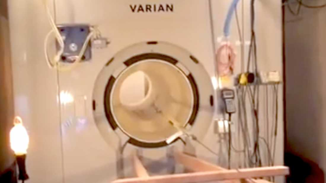 2334 This Is What Happens If You Wear Magnetic Items In An MRI Machine