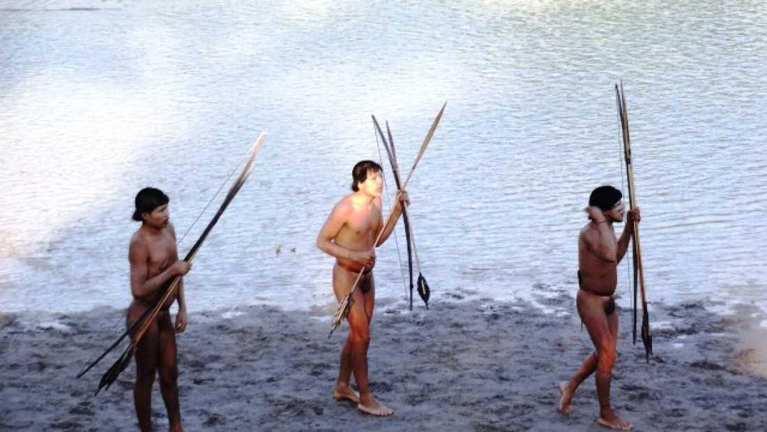 1568 Previously Uncontacted Tribe Have Contracted Influenza