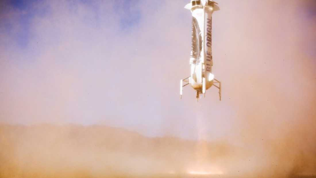 848 Blue Origin Sends Reusable Rocket To Space Twice In Historic First