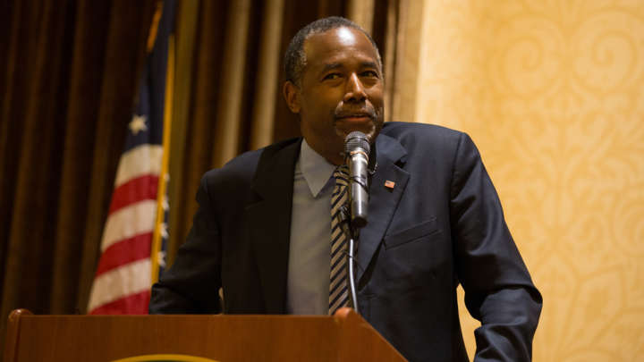 Young Earth Creationist Ben Carson Could Be America's New Secretary Of Education