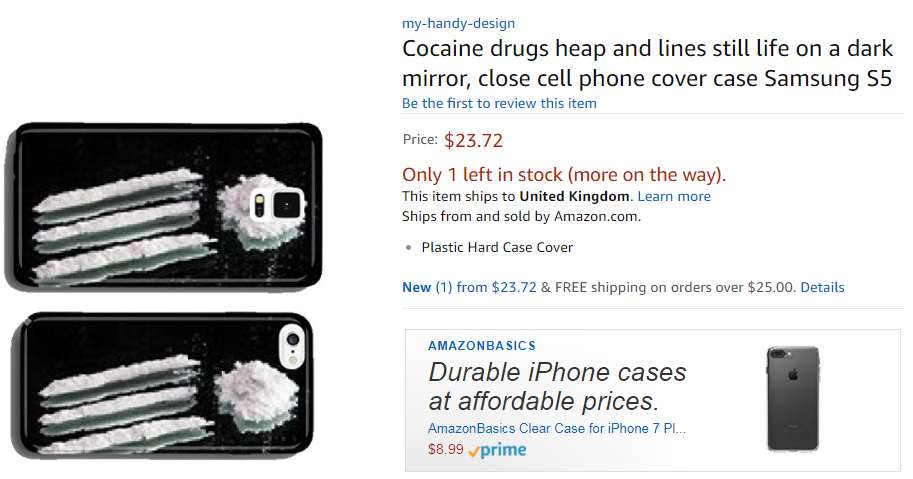 Amazon AI Designed To Create Phone Cases Goes Hilariously Wrong - Amazon uses ai to create phone cases but things go hilariously out of hand