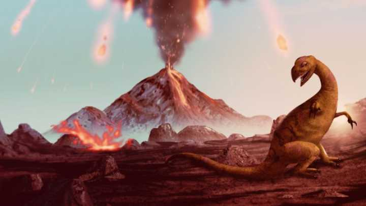 Asteroid Impact May Have Intensified Volcanic Eruptions ...
