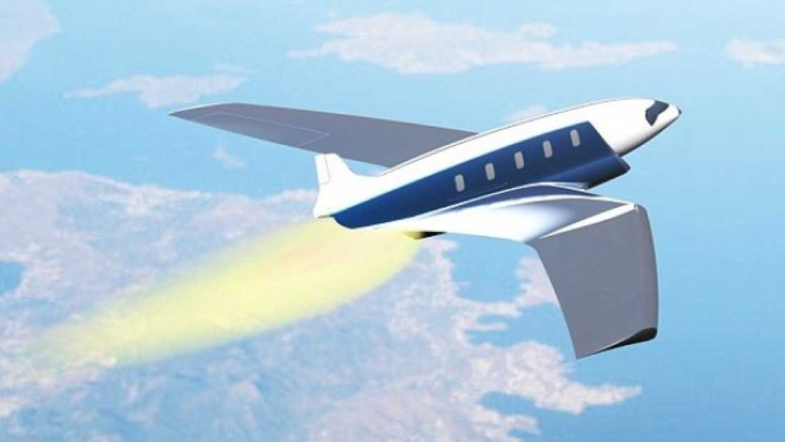 916 Concept Plane Could Travel From New York To London In Eleven Minutes