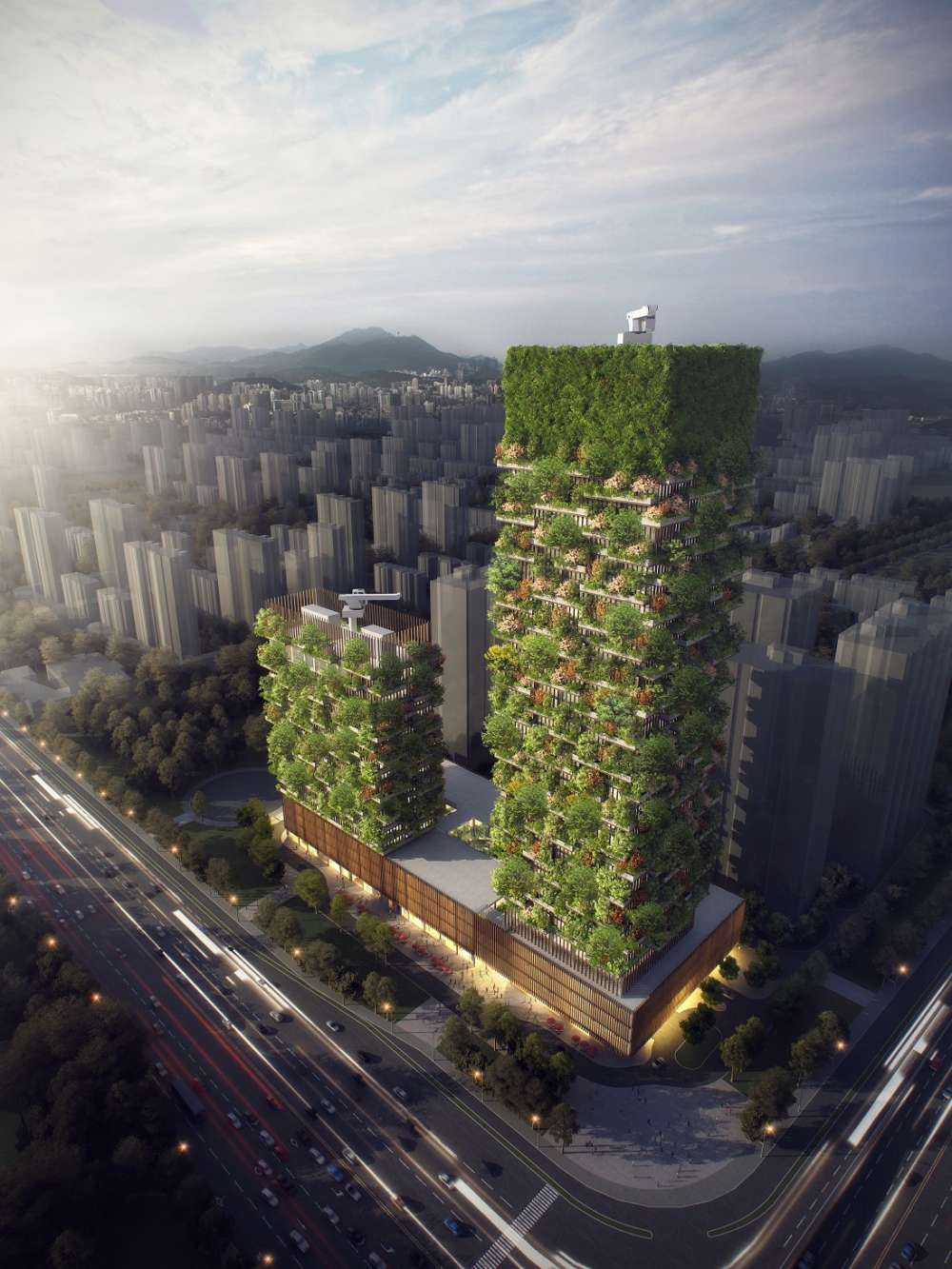 China To Get Vertical Gardens In 2018 To Help Tackle