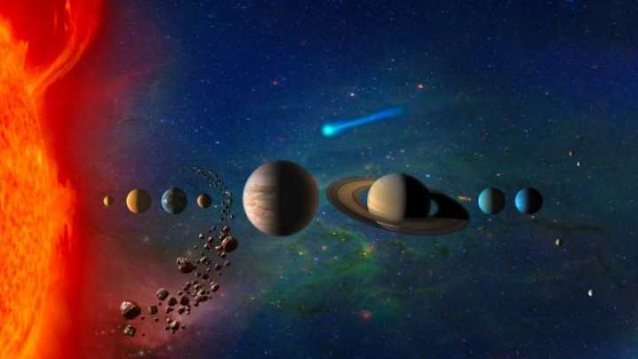 Why Do Planet And Stars Come In Different Sizes?