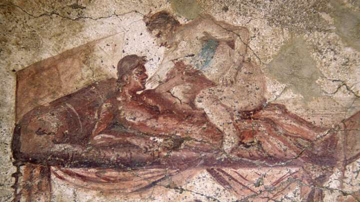 murals of pompeiis brothel showcase sex lives of ancient