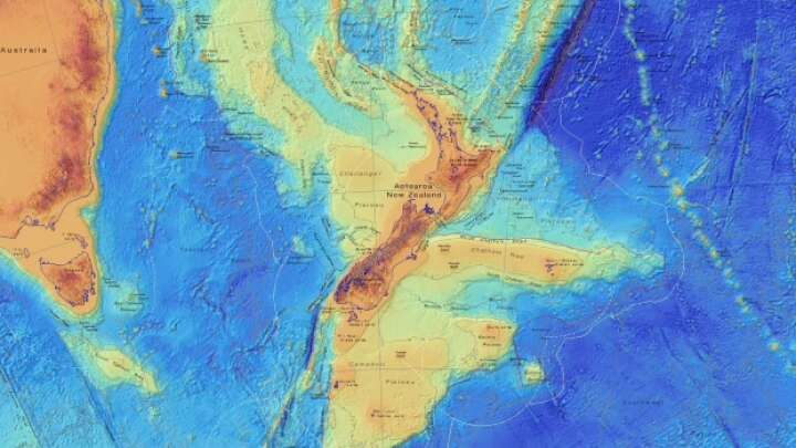 Long-Lost Continent Of Zealandia Shown In Stunning New Maps - IFLScience