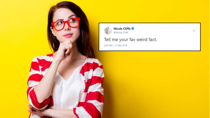 A Writer Asked Twitter For Their Favorite Weird Fact And People Did Not Disappoint