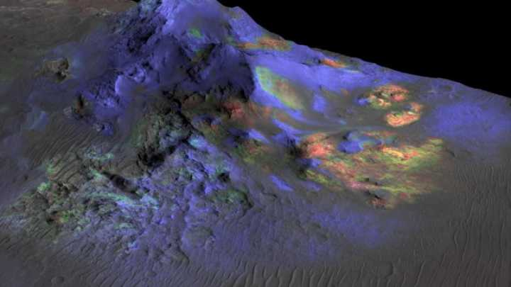 Impact Glass Detected On Mars Might Contain Organic Matter