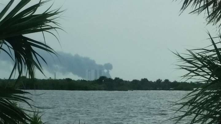 A SpaceX Rocket Just Exploded At Cape Canaveral In Florida