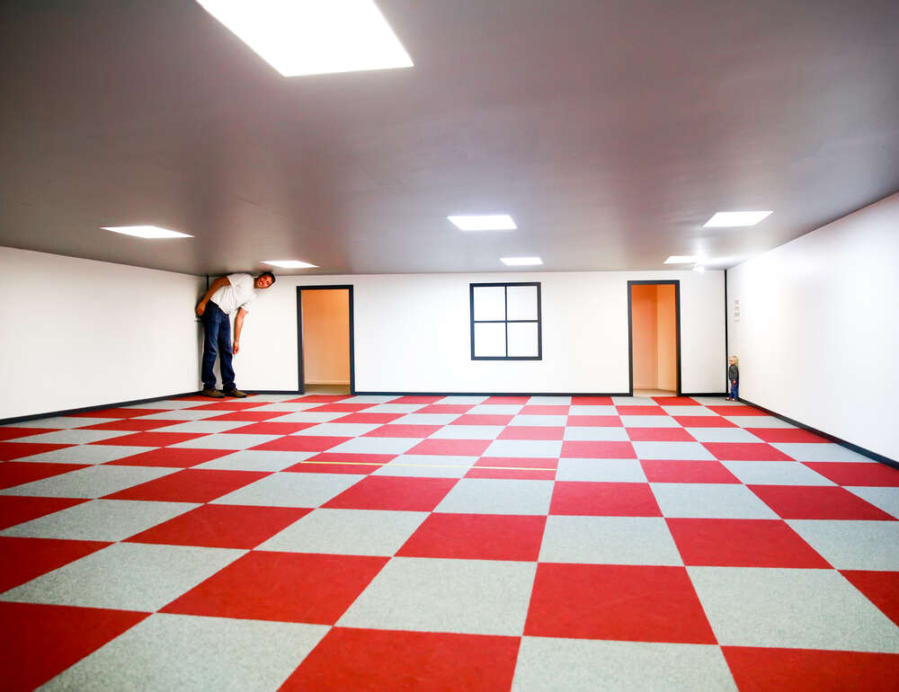 Ames room example