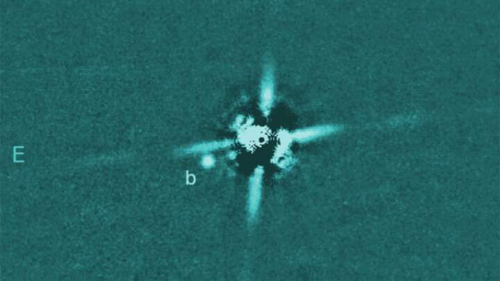 Rare Direct Image Of An Exoplanet Might Be The Youngest Ever Found