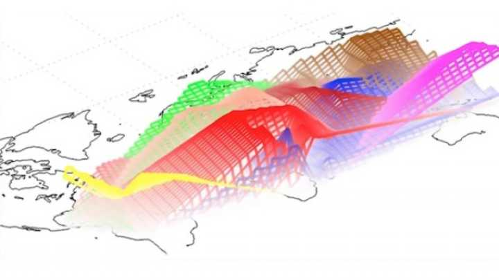 DNA GPS Maps Where Your Ancestors Lived