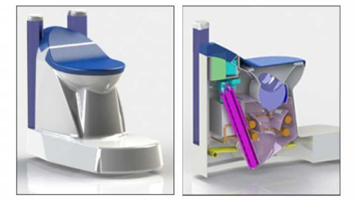 This Nanotech Toilet Uses No Water And Produces Energy