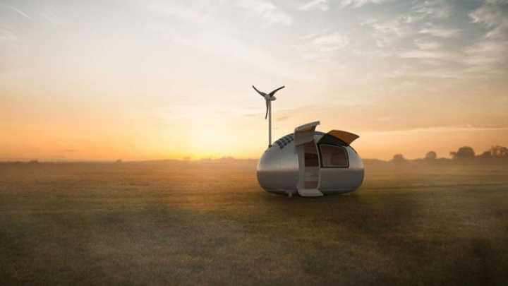 This Eco-Friendly Capsule Home Would Let You Live Off The Grid Anywhere In The World
