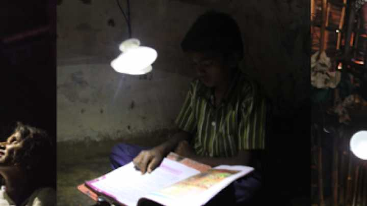 This Lamp Doesn't Need Batteries, Fuel Or Even The Sun