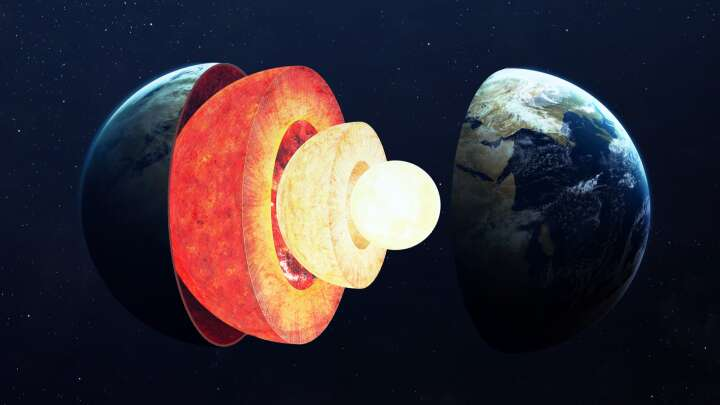 Earth's Core Is Growing Faster On One Side Than The Other Making It Lopsided - IFLScience