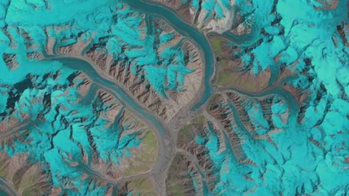 GIFs Reveal 25 Years Of Glacier Flow In One Second