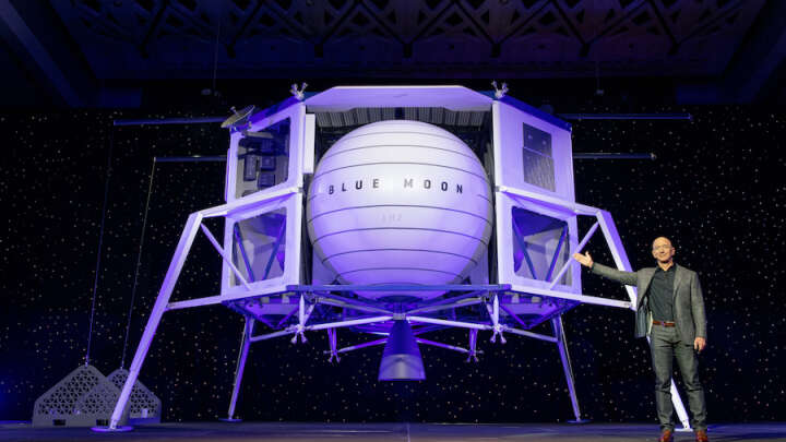 Jeff Bezos Is Now Suing NASA For Choosing SpaceX Not Blue Origin In Lunar Contract Row