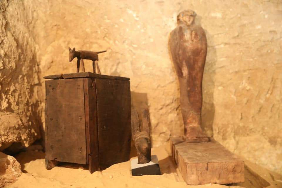 Stunning Ancient Egyptian Sarcophagi Found in 4,500-Year-Old Cemetery - image content-1557160297-59229770-2275956415783329-591205714333007872-n on https://alldesingideas.com