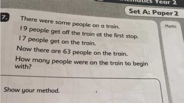 Parents Are Freaking Out Because They Can't Answer A 7-Year-Old Kid's Exam Question