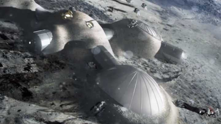 "ESA Reveals Its Plans To Build A ""Moon Village"" In 20 Years Time"