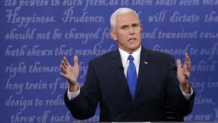 Mike Pence, The US Vice President-Elect, Has Said He Doesn't Believe That Smoking Kills